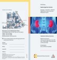 Einladung Nephrologisches Seminar - Städtisches Klinikum Karlsruhe