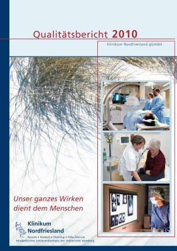 Qualitätsbericht 2010 Klinik Tönning - Klinikum Nordfriesland
