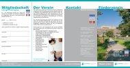 Faltblatt der Freunde und Förderer [410,1 kB] - Klinikum Niederberg