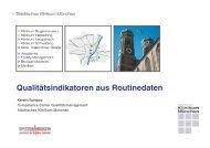 Qualitätsindikatoren aus Routinedaten - Städtisches Klinikum München
