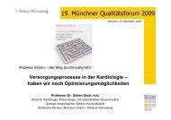 Prozesse führen - Städtisches Klinikum München