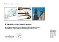 KTQ 2009 - kürzer, flexibler, aktueller? - Städtisches Klinikum ...