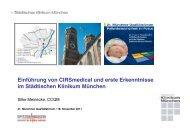 Einführung von CIRSmedical und erste Erkenntnisse im Städtischen ...