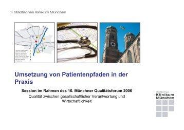 Patientenpfad - Städtisches Klinikum München