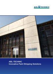 New corporate brochure (PDF) - ABL-TECHNIC