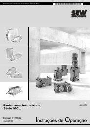 Instruções de Operação - SEW-EURODRIVE