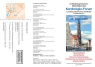 Kardiologie-Forum - Universitätsklinikum Regensburg
