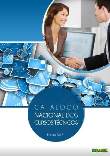 Catálogo Nacional de Cursos Técnicos (CNCT) - Ministério da Educação