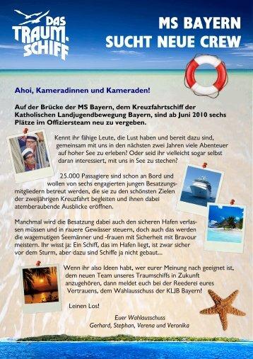Wahlausschreibung als PDF-Datei - (KLJB) Bayern