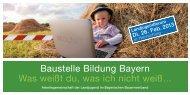 Flyer zur Veranstaltung als pdf-Datei (922 kB) - (KLJB) Bayern