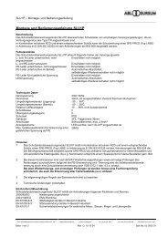 SLU1P Schutzleiterüberwachung - ABL Sursum