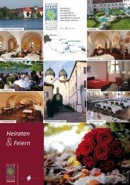 Feste feiern Flyer - Kloster Seeon