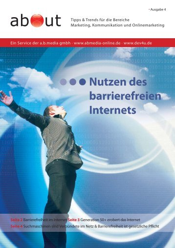 about - Nutzen des barrierefreien Internets (PDF ... - A.b.media gmbh