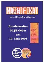 Bundesweites KLJB-Gebet am 10. Mai 2005 - (KLJB) Bayern