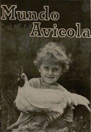 Real Escuela de Avicultura. Mundo Avicola 1928