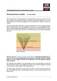 UE 3.1.1 Sucht_Die Geschichte von Max - Keine Macht den Drogen