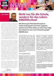 KMDD@school - Keine Macht den Drogen