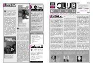 Club News - Keine Macht den Drogen