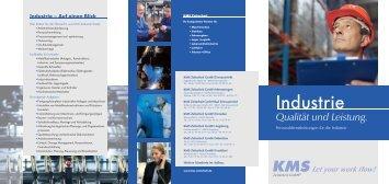 Industrie - KMS Zeitarbeit GmbH