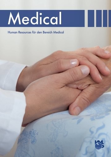 Broschüre Medical - KMS Zeitarbeit GmbH
