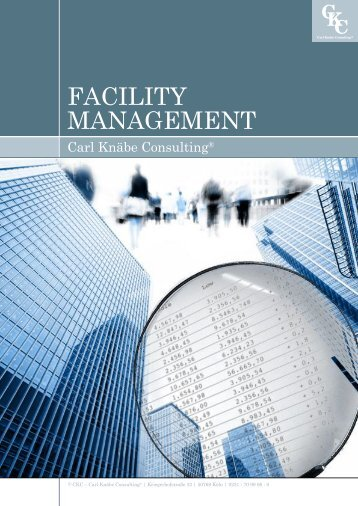 Unternehmensbrochüre - Beratung Facility Management!