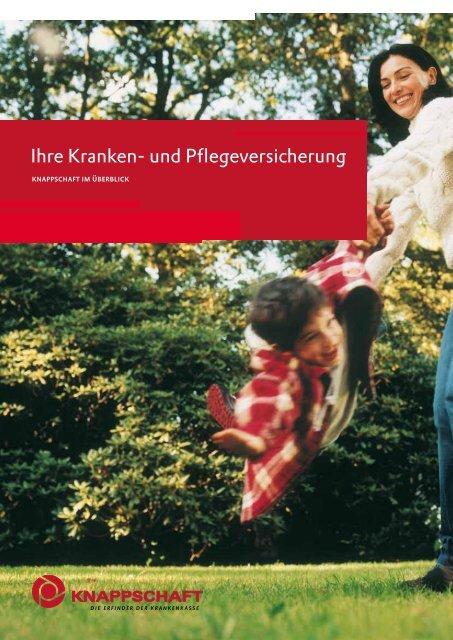 Ihre Kranken- und Pflegeversicherung (PDF/1 MB) - Knappschaft