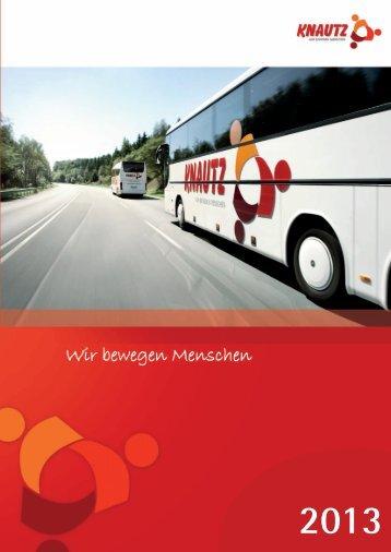 Knautz-Reisen Katalog 2013