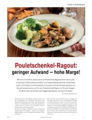 Pouletschenkel-Ragout: - Kneuss