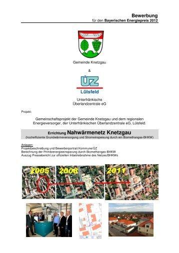 Errichtung Nahwärmenetz Knetzgau