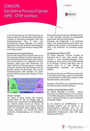 COM/DPE Das Delmia Process Engineer (DPE ... - ACTAS GmbH