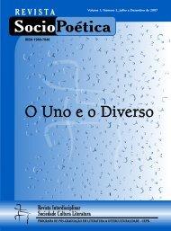 Número 2 - O Uno e o Diverso - EDUEP - Editora Universitário - Uepb