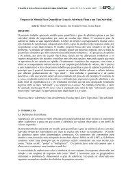 Proposta de Método Para Quantificar Grau de Aderência ... - Anpad