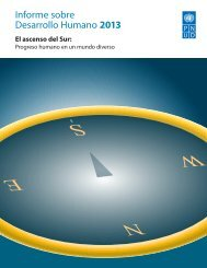 Informe sobre Desarrollo Humano 2013: El ascenso del Sur