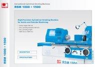 RSM 1000 • 1500 RSM 1000 • 1500 - Knuth.de