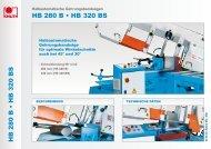 HB 280 B • HB 320 BS HB 280 B • HB 320 BS - Knuth.de