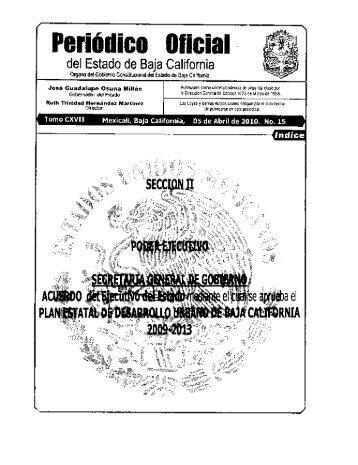 15 - Gobierno del Estado de Baja California