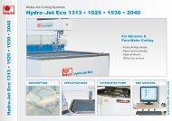 Hydro-Jet Eco 1313 • 1525 • 1530 • 2040 - Knuth.de