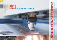 Laser Cutting Systems - Knuth.de