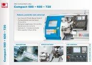 Compact 580 • 600 • 720 Compact 580 • 600 • 720 - Knuth.de
