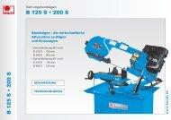 B 125 S • 200 SB 125 S • 200 S - Knuth.de