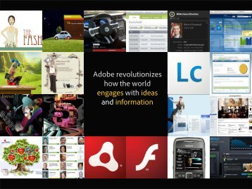 Adobe revolutionizes how the world engages with ... - koan solution