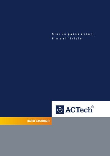 RAPID CASTINGS® - ACTech GmbH
