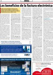 Los beneficios de la factura electrónica - Portal de Facturas