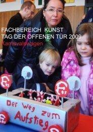 FACHBEREICH KUNST TAG DER OFFENEN TÜR 2009 ...