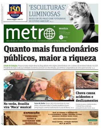 Quanto mais funcionários públicos, maior a riqueza - Metro