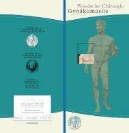 Gynäkomastie Infobroschüre