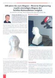 200 Jahre bis zum Abguss — Reverse Engineering - ACTech GmbH
