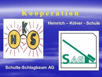 über die Lernpartnerschaft (im PDF-Format) - Heinrich-Kölver-Schule