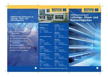 """Download """"Flyer Lüftungs-, Klima- und Kälteanlagenbau"""""""