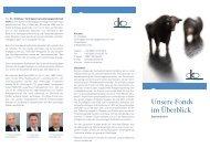 DKO-Fonds Flyer - Dr. Kohlhase
